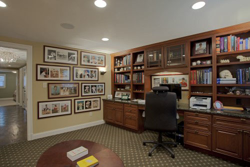 This Case Design/Remodeling Remodel Converted The Existing Living Room Into  An Office/den And Borrowed Unused Room From The Remaining Floor Plan To  Create ... Part 81