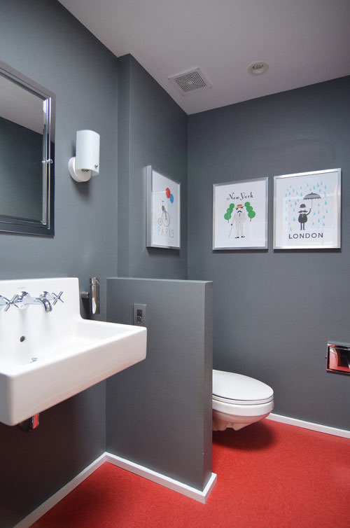 Bathrooms: Bold, Bright, and Beautiful | Case Design/Remodeling