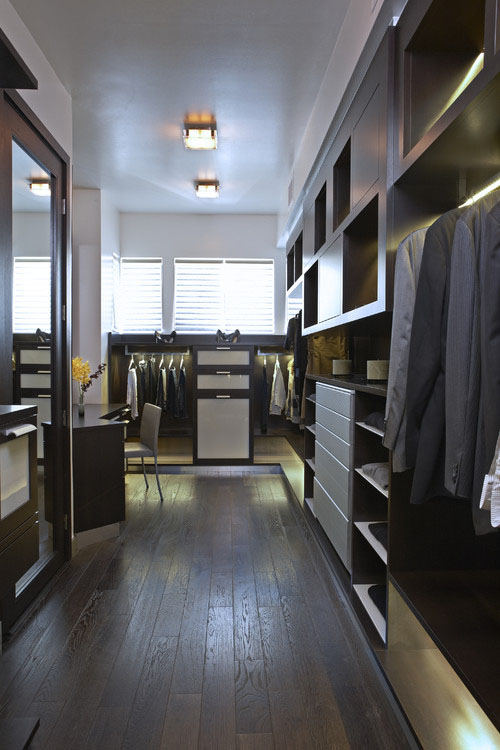 Master Suite Addition Traditional Closet