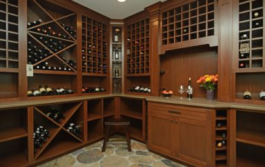 Wining in Style: In-Home Wine Cellars